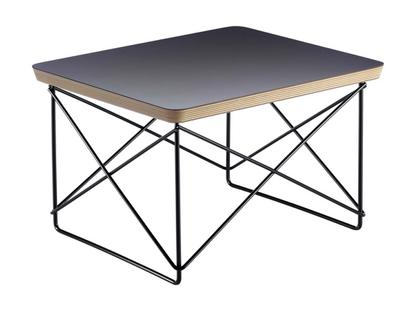 LTR Occasional Table HPL, schwarz|Pulverbeschichtet basic dark