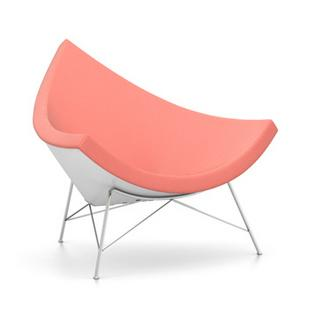 Coconut Chair Hopsak|Poppy red / elfenbein