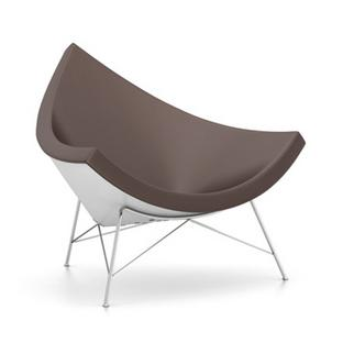 Coconut Chair Leder|Kastanie