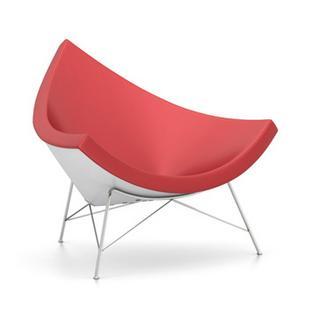 Coconut Chair Leder|Rot