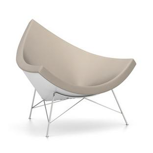 Coconut Chair Leder|Sand