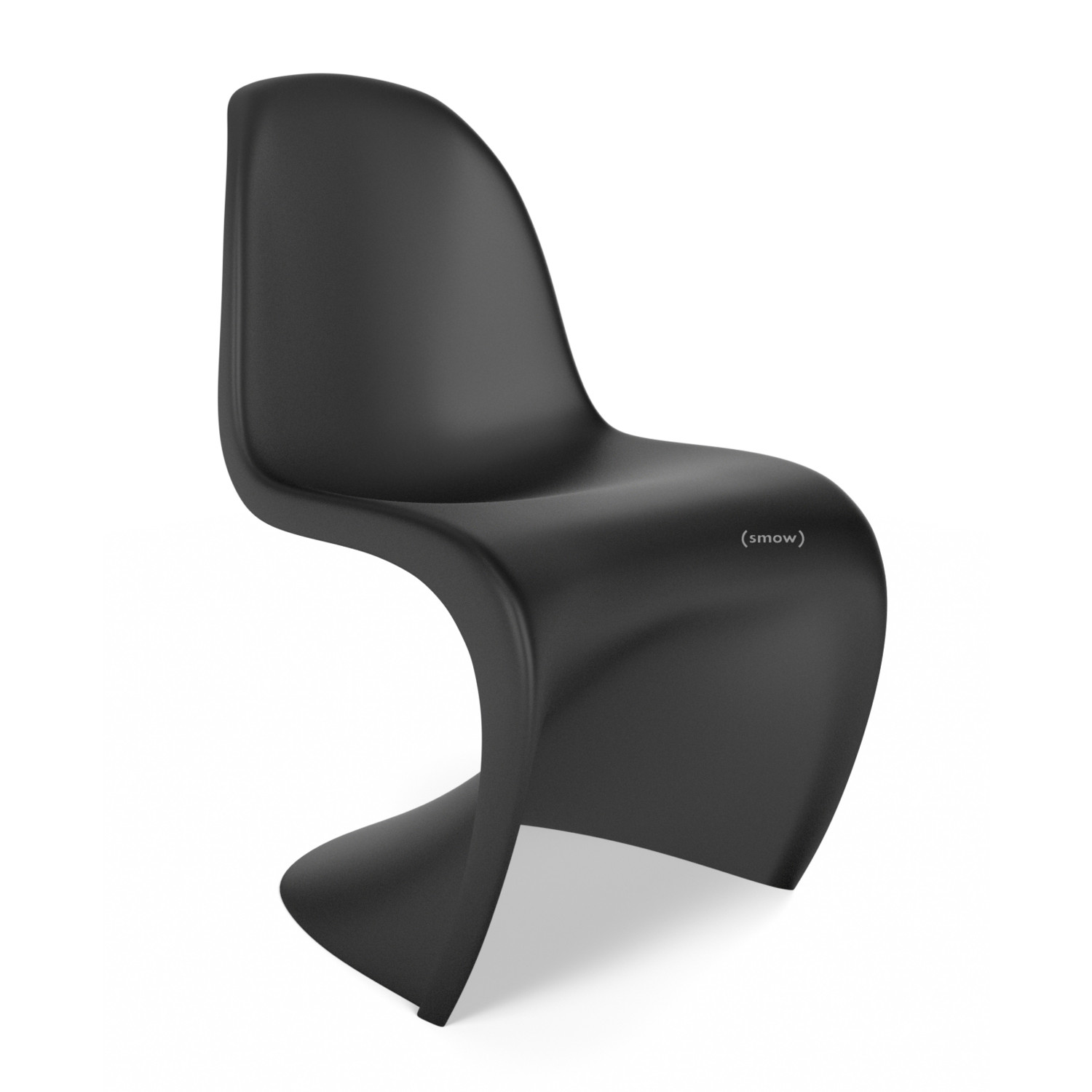 vitra panton chair basic dark von verner panton 1999 designerm bel von. Black Bedroom Furniture Sets. Home Design Ideas