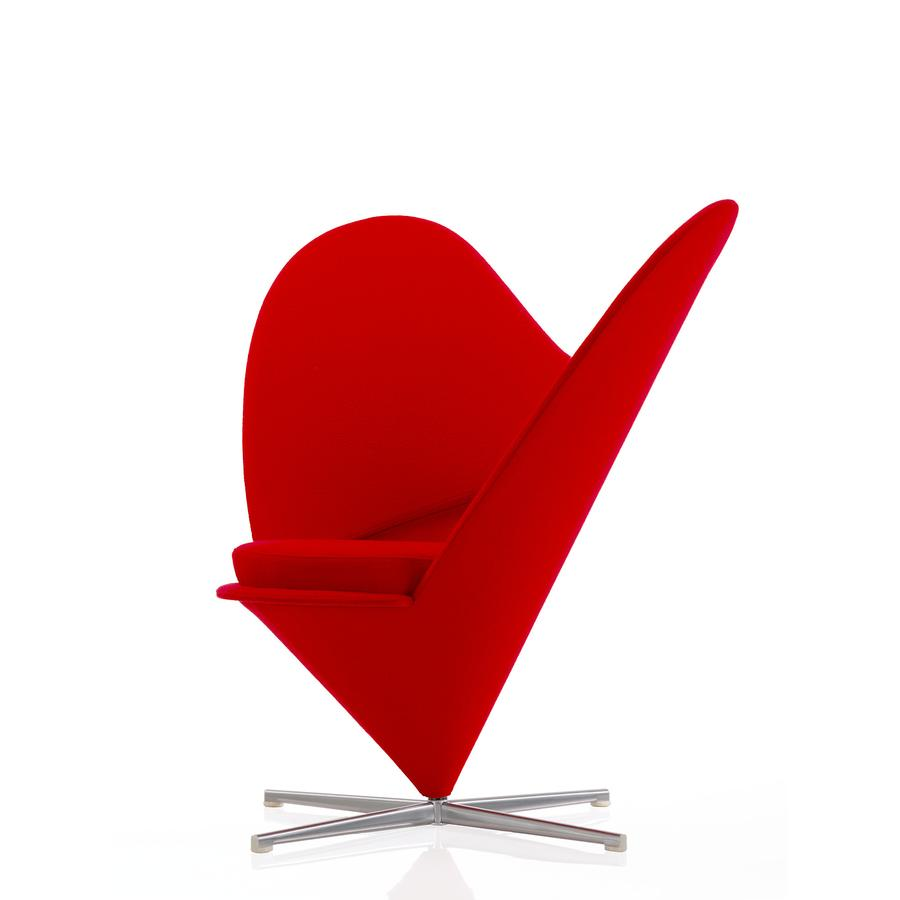 Vitra heart cone chair von verner panton 1959 for Vitra design sessel