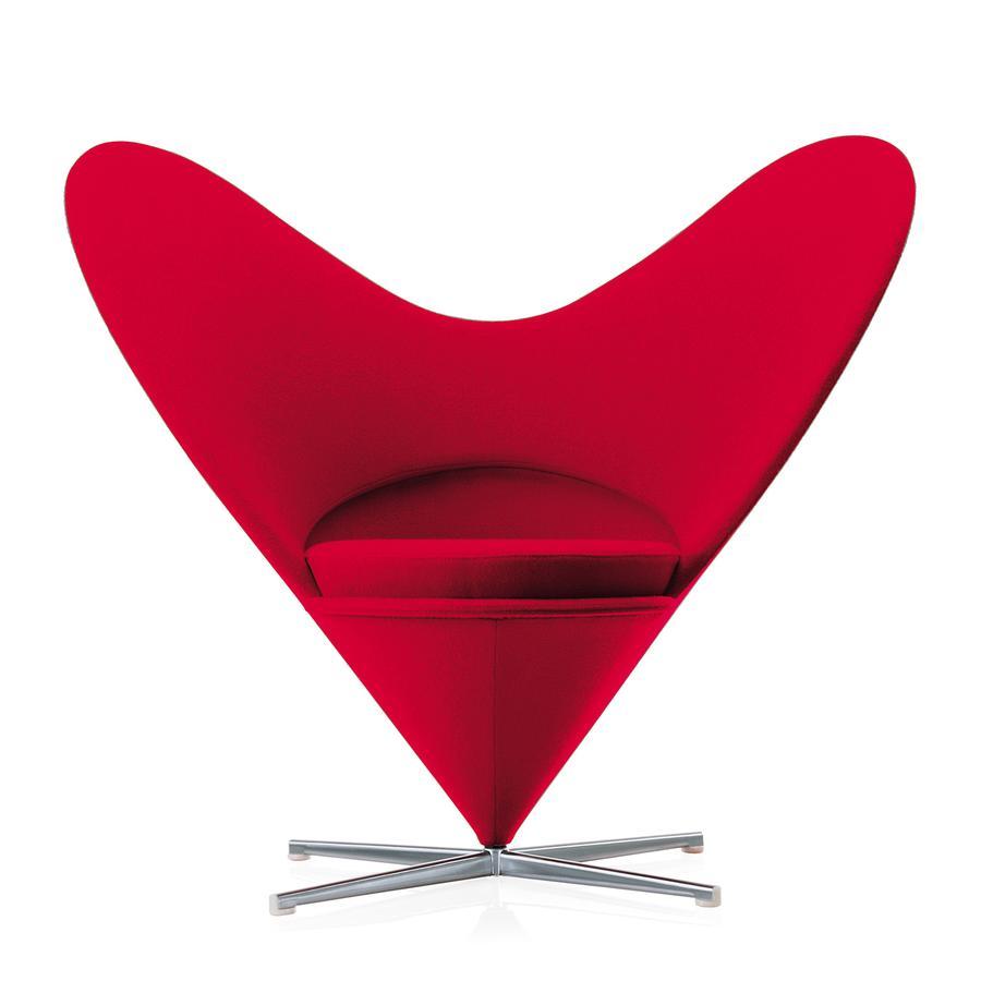 Vitra Heart Cone Chair Von Verner Panton 1959