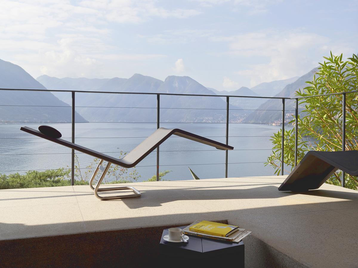 Außergewöhnlich Mvs Chaise Relax Liege Von Vitra Erlaubt Sitz Oder Liegeposition, Möbel