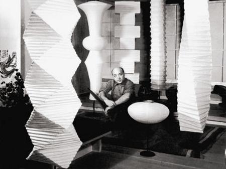 vitra akari 14a von isamu noguchi 1951 designerm bel von. Black Bedroom Furniture Sets. Home Design Ideas