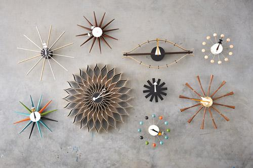 vitra sunflower clock von george nelson 1958. Black Bedroom Furniture Sets. Home Design Ideas