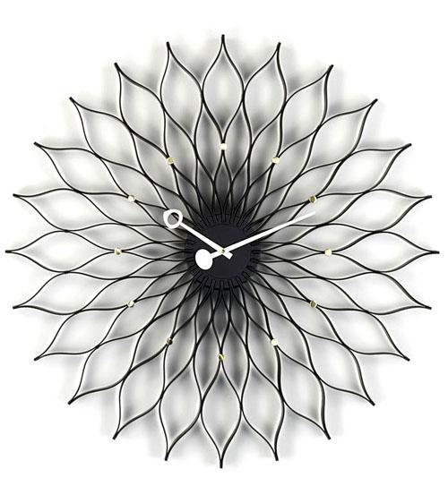 vitra sunflower clock von george nelson 1958 designerm bel von. Black Bedroom Furniture Sets. Home Design Ideas