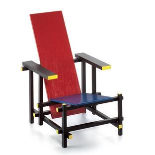 Rood blauwe stoel Miniature