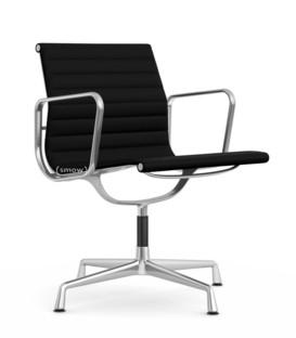 Aluminium Chair EA 107 / EA 108 EA 108 - drehbar|Poliert|Hopsak|Nero