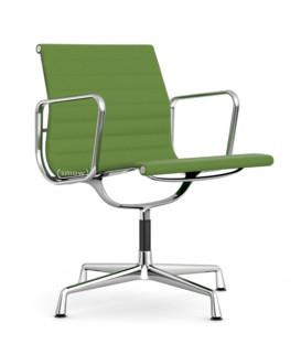 Aluminium Chair EA 107 / EA 108 EA 107 - nicht drehbar|Verchromt|Hopsak|Wiesengrün / forest