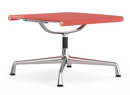 Aluminium Chair EA 125 Untergestell verchromt|Hopsak|Poppy red / elfenbein