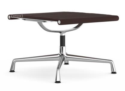 Aluminium Chair EA 125 Untergestell verchromt|Hopsak|Kastanie / moorbraun