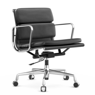Soft Pad Chair EA 217 Verchromt|Asphalt