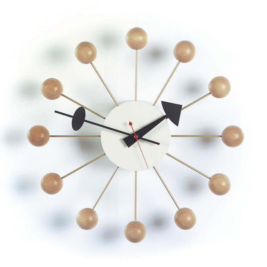 vitra ball clock von george nelson 1948 designerm bel. Black Bedroom Furniture Sets. Home Design Ideas