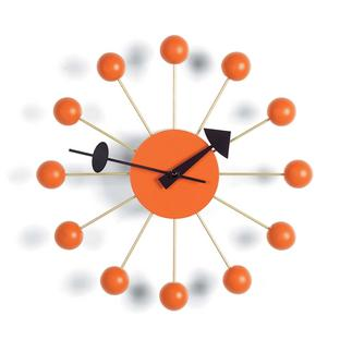 Ball Clock Kugeln orange