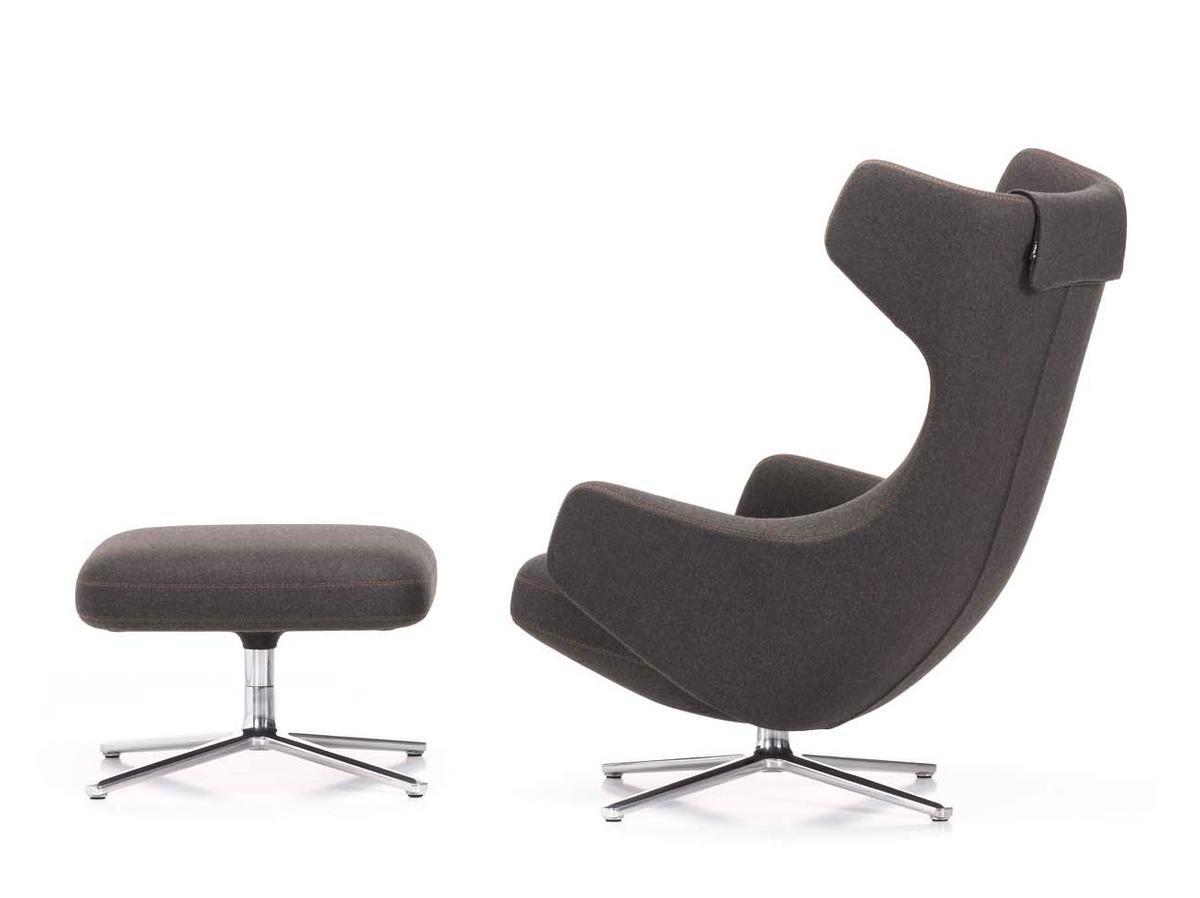 Vitra grand repos sessel grand repos leder premium for Vitra design sessel
