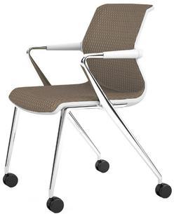 Unix Chair Vierbeinfuß mit Rollen