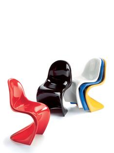 Panton Chairs Miniature (5er Set)