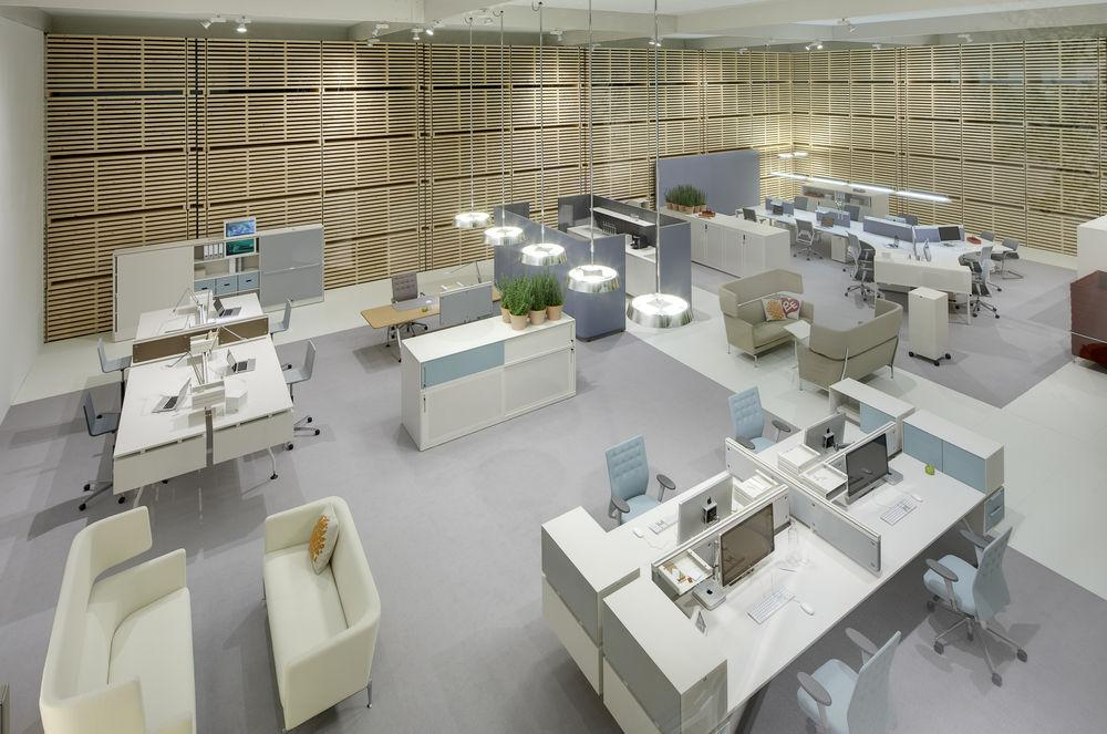 the vitra model office concept citizen office at orgatec