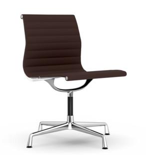 Aluminium Chair EA 101 Kastanie / moorbraun|Verchromt