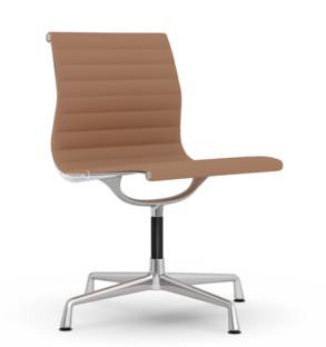 Aluminium Chair EA 101 Cognac / elfenbein Poliert