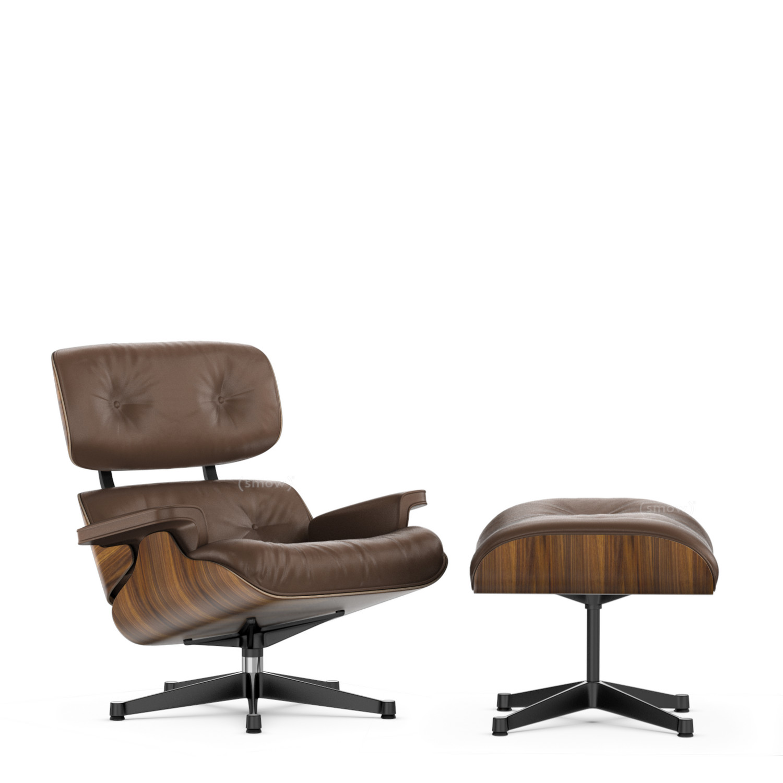 Lounge Chair U0026 Ottoman   Beauty Versions Nussbaum Schwarz  Pigmentiert|Kastanie|84 Cm