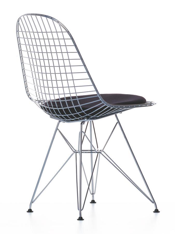 vitra kissen f r wire chair dkr dkw dkx sitz und. Black Bedroom Furniture Sets. Home Design Ideas
