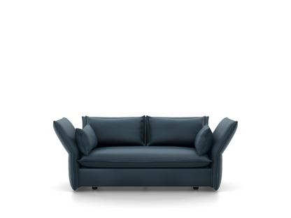 Mariposa Sofa Zweisitzer (H80,5 x B140 x T101,5 cm)|Iroko stahlblau