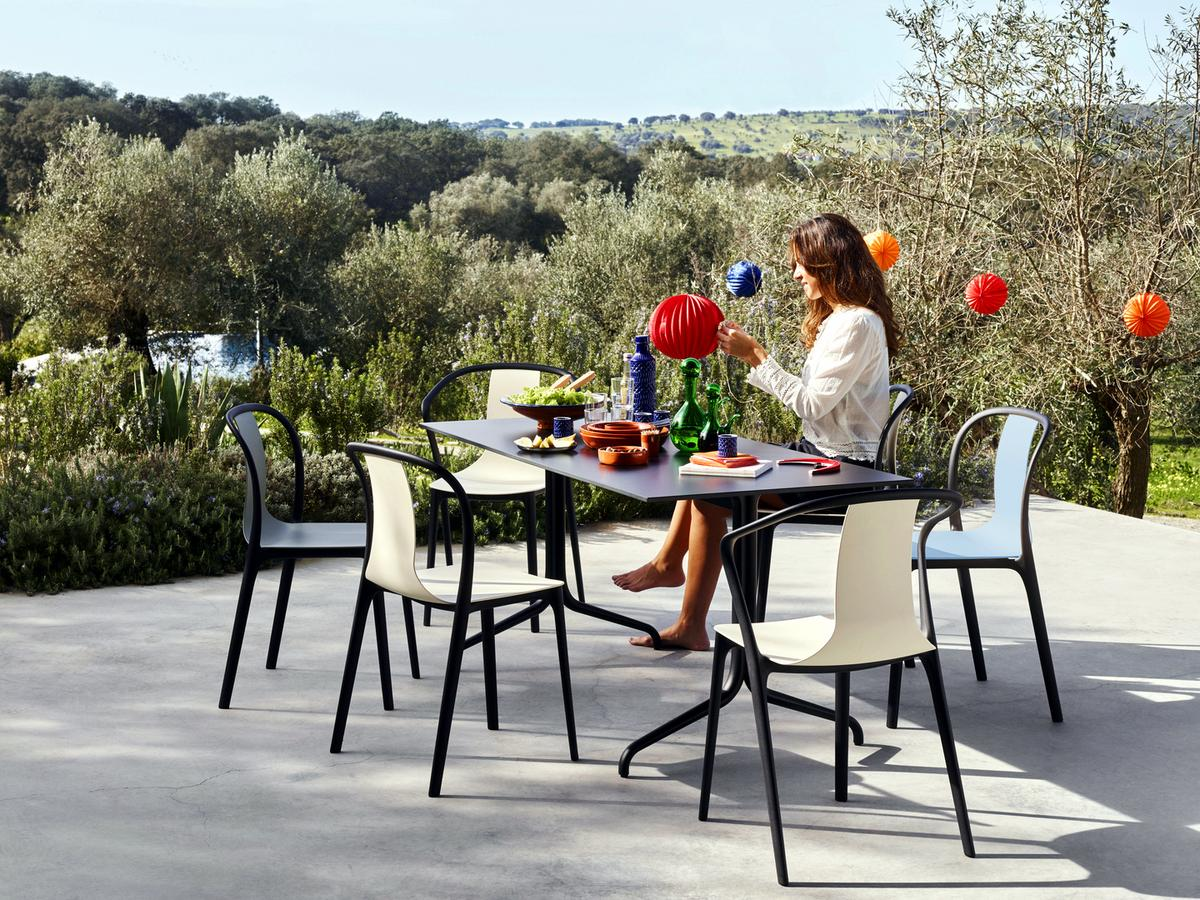 Charles and ray eames chair - Vitra Belleville Chair Outdoor Von Ronan Amp Erwan Bouroullec 2015