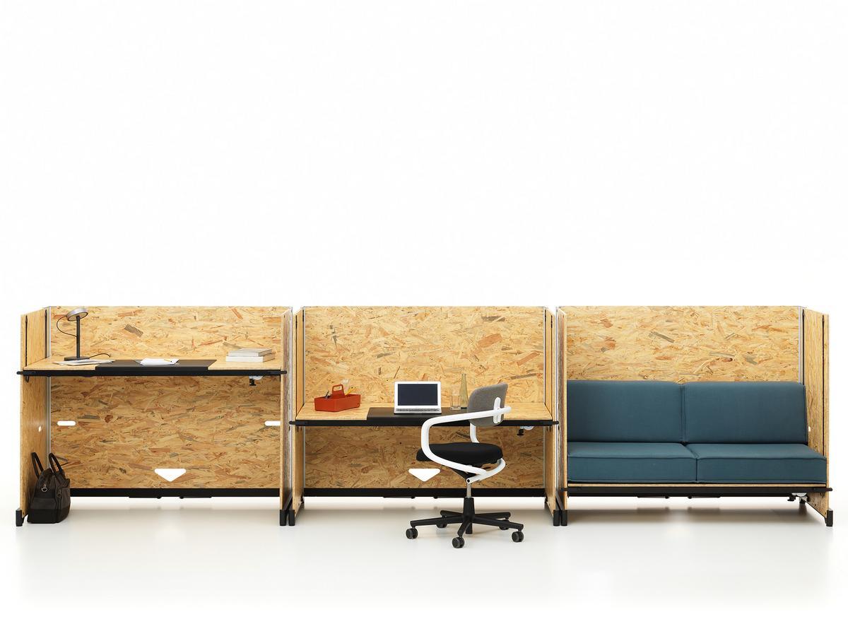 vitra hack schreibtisch kurbelverstellung von konstantin grcic 2016 designerm bel von. Black Bedroom Furniture Sets. Home Design Ideas