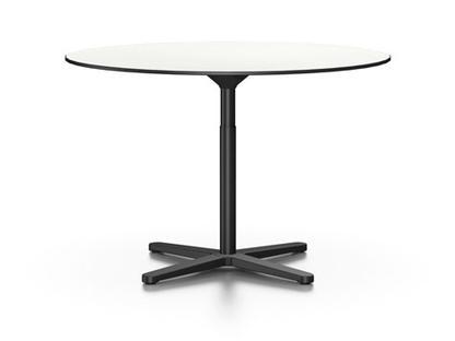 Super Fold Table Ø 79,5 cm Vollkernmaterial weiß