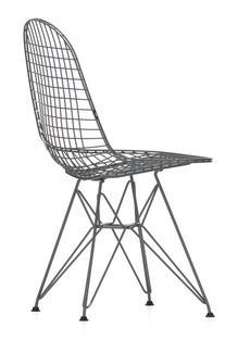 DKR Wire Chair Pulverbeschichtet dunkelgrau