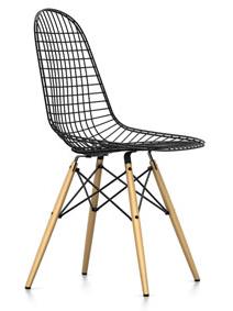 DKW Wire Chair Ahorn gelblich