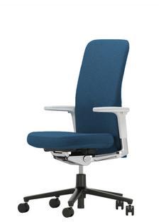 Pacific Chair Mittelhoch|Blau/coconut|Höhenverstellbare Armlehnen (Kunststoff)|Hell|Kunststoff