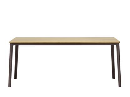 Plate Dining Table 1800 x 900 mm|Eiche natur massiv, geölt|Chocolate