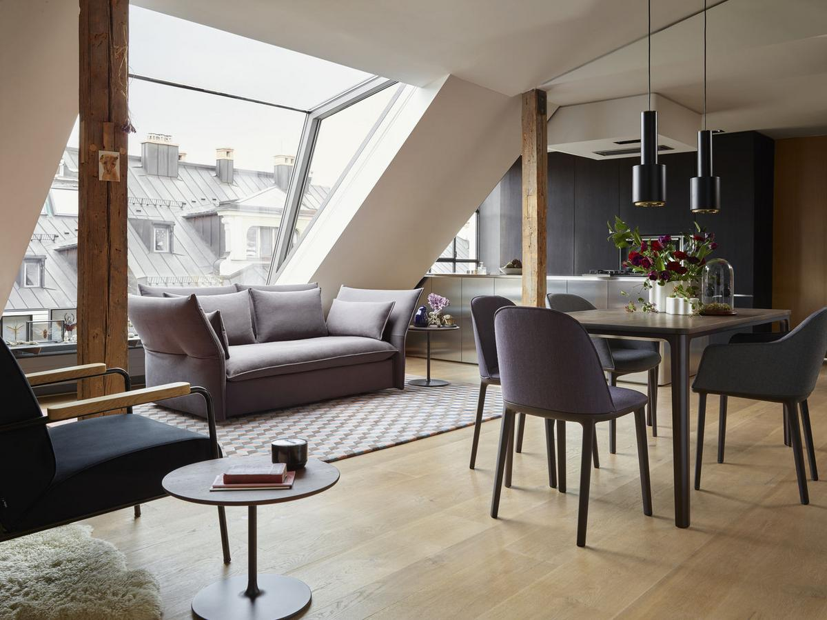 Vitra Plate Dining Table Von Jasper Morrison 2018 Designermöbel