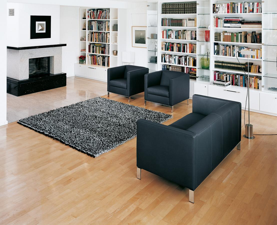 walter knoll foster sessel 501 von norman foster. Black Bedroom Furniture Sets. Home Design Ideas